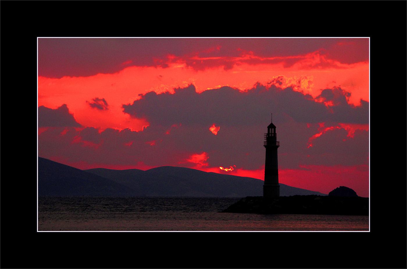 Deniz Feneri, Turgutreis, Bodrum, Kasım, 2008