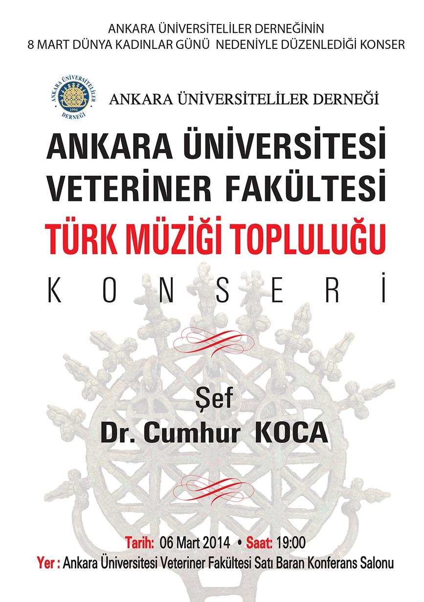 Ankara Üniversitesi, Veteriner Fakültesi Türk Müziği Topluluğu Konseri